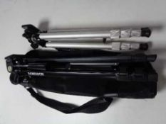 Two camera tripods (one in carry bag)