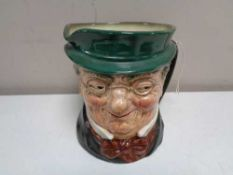 A large Royal Doulton character jug - Mr Pickwick