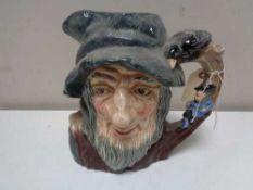 A large Royal Doulton character jug - Rip Van Winkle D6438