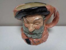 A large Royal Doulton character jug - Falstaff D6287