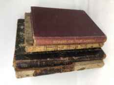 Three early nineteenth century volumes - Scottish Airs 1790/1800 and a further Songs of the North