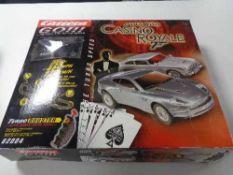 A Carrera Go James Bond racing set