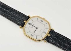 An 18ct gold Van Cleef and Arpels wristwatch