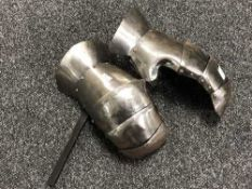 A pair of reproduction gauntlets