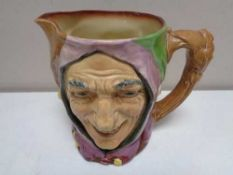 A large Royal Doulton character jug - Touch Stone