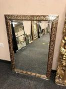 A 2 ' x 3' gilt framed mirror