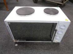 A Russell hobbs table topped oven