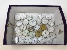 A collection of pocket watch movements, some chronometers, various makers (Approx.