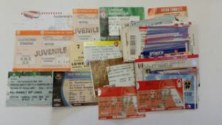 FOOTBALL, Sunderland home and away tickets, 1968 onwards (mainly 2000s), inc. 1997/8 first season at