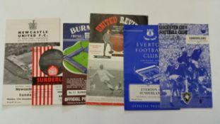 FOOTBALL, Sunderland, home and away programmes, 1965/6, inc. complete league season (42),