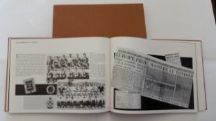 FOOTBALL, hardback edition of 25 Years of UEFA, 1979, ex-libris sticker to inside cover for Ken