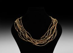 Coptic Bead Necklace String Group