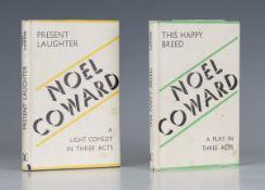 THEATRE. - Noel COWARD. Present Laughter. London: William Heinemann, 1943. First edition, signed
