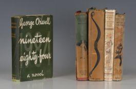 ORWELL, George. Nineteen Eighty-Four. London: Secker & Warburg, 1951. Reprint, 8vo (183 x 118mm.) (
