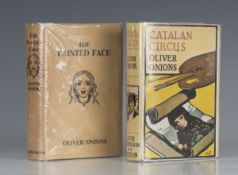 SUPERNATURAL. - Oliver ONIONS. The Painted Face. London: William Heinemann Ltd., 1929. First