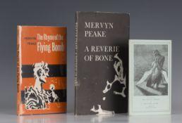 PEAKE, Mervyn. The Rhyme of the Flying Bomb. London: J.M. Dent & Sons Ltd., 1962. First edition, 8vo