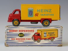 A Dinky Supertoys No. 923 Big Bedford van 'Heinz' with baked bean tin, boxed (some minor paint