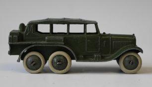 A pre-war Dinky Toys No. 152b reconnaissance car (paint wear).Buyer's Premium 29.4% (including VAT @