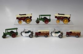 A collection of sixty-five Matchbox Models of Yesteryear vehicles, including two Y-9 Fowler