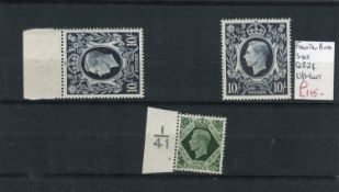 A collection of George VI and Elizabeth II stamps in two stock books and loose on stock cards with