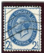 A Great Britain 1929 PUC 2½d blue stamp, inverted watermark used.Buyer's Premium 29.4% (including
