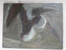 John Trigg - oil on canvas Abstract, signed to verso and dated '91/92,