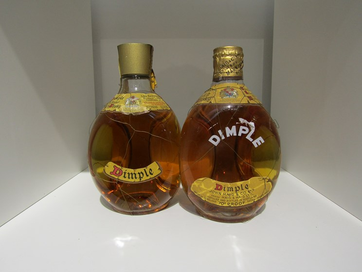 Lot 7038 - Two bottles of Dimple Scotch blended Whisky