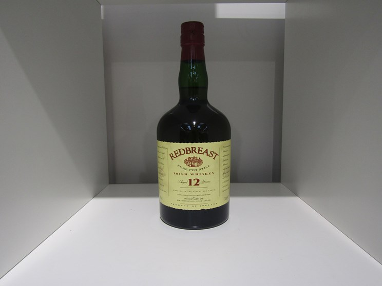 Lot 7020 - Redbreast Pure Pot Still 12 years Old Irish Whiskey,