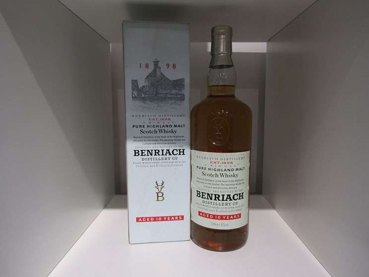 Lot 7017 - Benriach 10 years Old Pure Highland Malt Scotch Whisky,