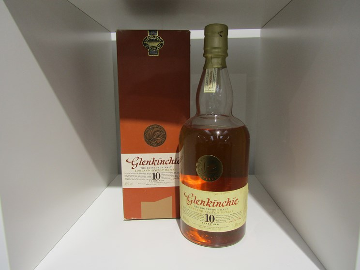 Lot 7005 - The Glenkinchie 10 years Old Single Malt Scotch Whisky, Lowlands, Edinburgh Malt,