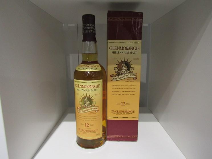Lot 7010 - Glenmorangie Millennium Malt 12 years Old Single Highland Malt Whisky First Fill Casks, 70cl,