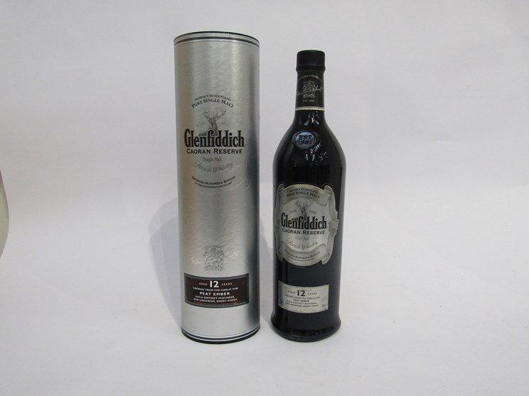 Lot 7041 - Glenfiddich 12 years Old Caoran Reserve Single Malt Whisky,