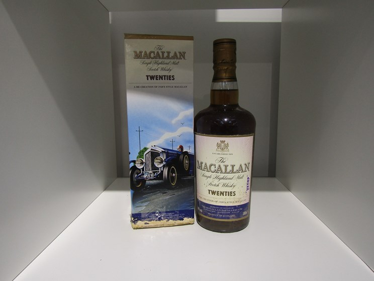 Lot 7012 - The Macallan Single HIghland Malt vintage travel collection Twenties, 1920's,