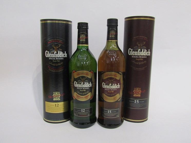 Lot 7039 - Glenfiddich Solera Reserve 15 years Old Single Malt Scotch Whisky 1ltr,
