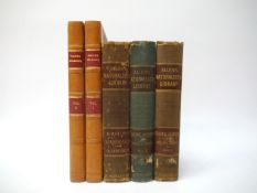 White: 'Natural History of Selborne', 1822, new edition, 2 vols + Allen's Naturalists Library,