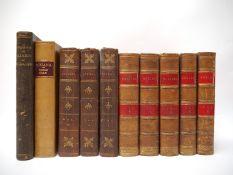 'Boxiana', 1812, 1st edition, single volume, rebound half calf,