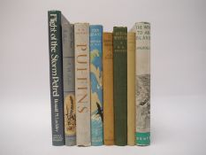 Ronald M. Lockley, eight titles: 'The Way to an Island', 1941 reprint, double sided typed letter