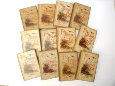 Fur, Feather & Fin series, 12 volumes, (5 first editions, 7 reprints),