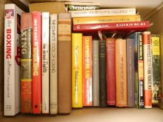 Collection of modern boxing books, approx.