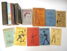 Fleischer, 14 titles including 'Jack McAuliffe'; 'Terrible Terry'; 'Young Griffo'; 'John L.