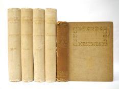 Mrs Henry Perrin: 'British Flowering Plants', London, Bernard Quaritch, 1914, 1st edition, volumes,