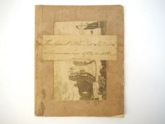 A manuscript hunting/gamekeeping account book 1782-1802 entitled 'The Account of the Deer Killed &c