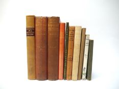 Collection of ten 19th and early 20th century boxing related books, comprising Anon: 'Pancratia; Or,