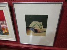 IAN BRYSON: 1976 original photo - Montage - framed and glazed,