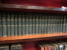 Thackeray, assorted works in 26 volumes, published Smith, Elder & Co. Circa.