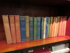 Rudyard Kipling, assorted works in 19 volumes including 'The Jungle Book' and 'Second Jungle Book',