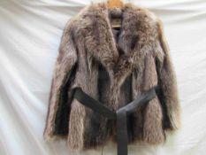 A 1970's raccoon fur jacket by Calman Links,