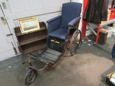 An Edwardian bath chair