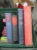 "A box of mixed military books including History of The Suffolk Regiment 1928-1946 and ""Normandy to"