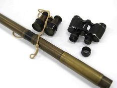 An R&J Beck of London brass gunsight circa 1900-WWI era,